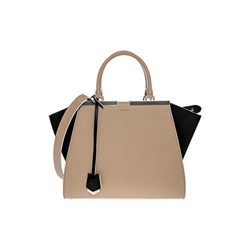 Fendi 3 Jours Small Leather Shopper Handbag 8BH279 5R4 F0Z6C