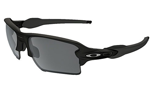 Oakley Flak Jacket 2.0 XL Sunglasses (Matte Black Frame Solid Black Lens, Matte Black Frame Solid Black - Sunglasses Oakley Black Jacket Flak