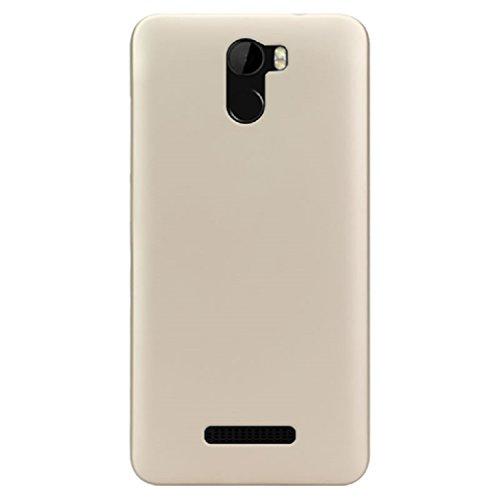 BLU VIVO 8L (5.3) Case, ZLDECO Ultra Slim Shock Proof Matte Hard Skin Case Cover Protect for Blu Vivo 8L Smartphone (Champagne)