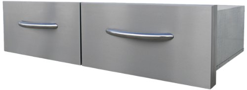 CalFlame BBQ08867-A 2 Drawer Horizontal by Cal Flame
