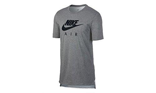 Col Col noir T Nike Homme Rond shirt Carbone Carbone Carbone 0FEwqf1