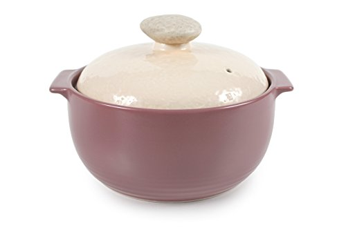 Neoflam Kiesel 1.5QT Stovetop Ceramic Cookware, Lilac