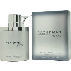 l Eau De Toilette Spray, 3.4 Ounce (Yacht Man Metal)