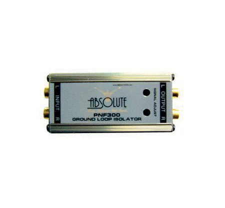 Channel Elimination Filter (Absolute PNF300 Power Noise Filter/Ground Loop Isolator With Adjustable Controls)