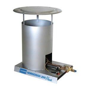 Norseman 200 000 btu convection tank top propane space heater - Small propane space heater collection ...