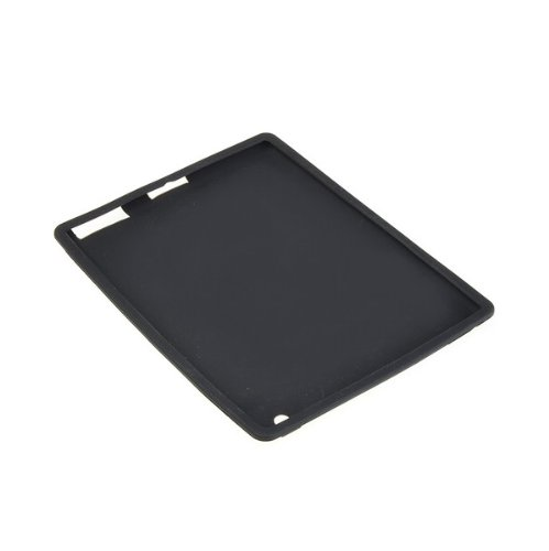 For Apple iPad 3 rd Generation Black Silicone Skin Case Gel Cover