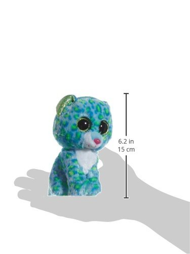 b35e148db6a Image Unavailable. Image not available for. Color  Ty Beanie Boos Leona  Blue Leopard ...