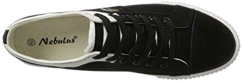 Nebulus Herren Maritime Sneaker Schwarz (Schwarz)