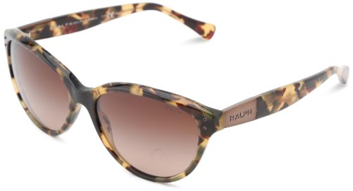 Ralph by Ralph Lauren Women's 0RA5168 Cat Eye, VINTAGE TORT, ()