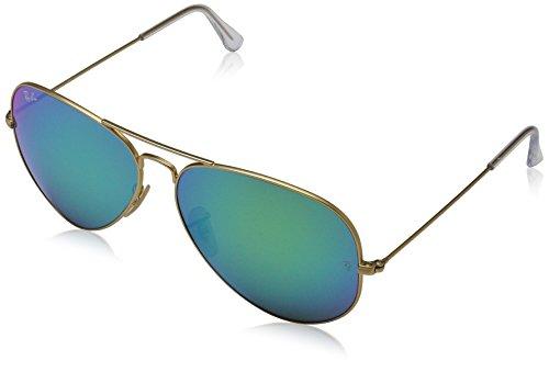 Ray-Ban-Large-Metal-Polarized-Aviator-Sunglasses-Matte-Gold-58-mm