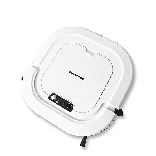 Grand-Pro A1 Robot Vacuum,120mins Long Lasting, Self-Charging, Suitable for Pet Hair, Hard Floors, Easy Schedule Cleaning and Self-Charging, Robotic Vacuums Works in 110V and 220V. ()