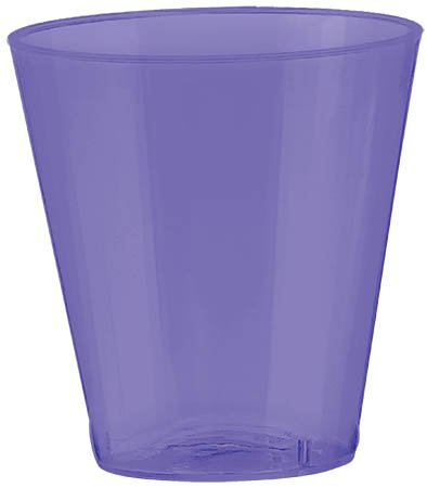 Big Party Pack New Purple Shot Glasses| 2 oz. | Pack of 100 | Party Supply