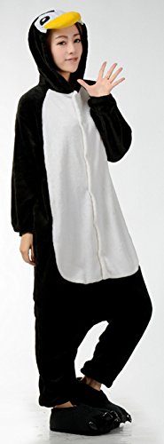 La Vogue Combinaison Pyjama Grenouillère Costume Pingouin Nuit Vêtement Adulte