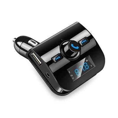 ExcLent Ts - Btxk760 Reproductor De Mú sica Mp3 Con Bluetooth Para Automó vil - Negro