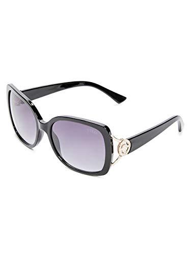- GUESS Factory Women's Logo Plastic Sunglasses