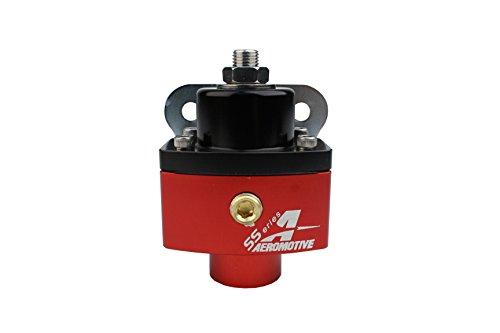 - Aeromotive 13201 Regulator, Carbureted Adjustable, Billet 2-Port AN-6