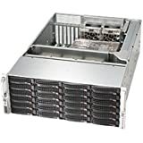 Supermicro 4U Rackmount Server Chassis - Black CSE-846BE16-R1K28B