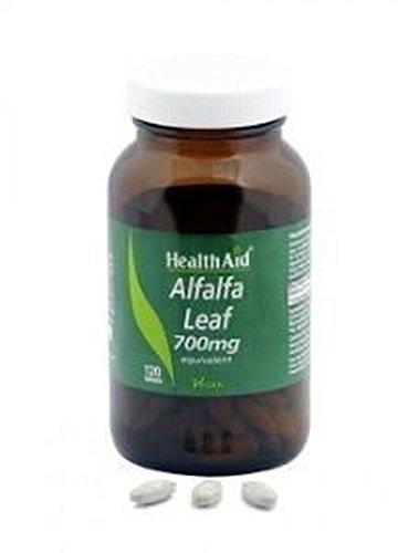 Alfalfa Leaf 120 comprimidos de 700 mg de Health Aid