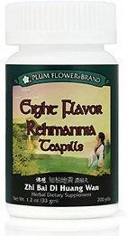 Huit saveur Rehmannia Teapills (Zhi Bai Di Huang Wan) 3629-Mayway