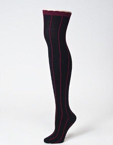 92a1dbda4f1 Amazon.com  Over The Knee Socks - Slick Black (OTK)  Health   Personal Care