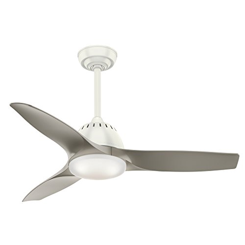 Casablanca 59149 Wisp Indoor Ceiling Fan with Remote, Small, Fresh White