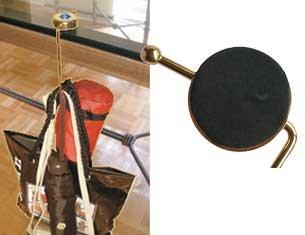 Jeweled Purse Valet Hooks Set of 2