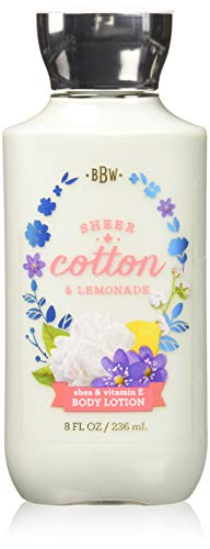 Bath & Body Works Sheer Cotton & Lemonade Body Lotion, 8 Ounce