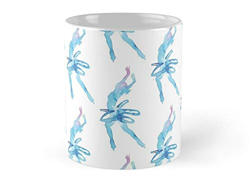 (Ice Dancing In Watercolors 11oz Mug - Great gift for family and friends.)