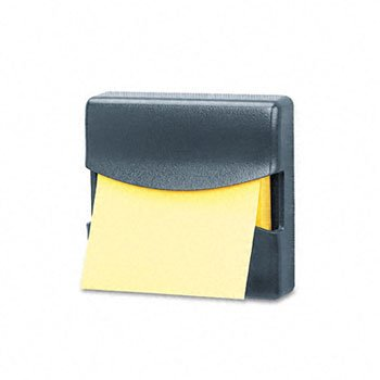Partition Additions Pop-Up Note Dispenser for 3 x 3 Pads, Dark Graphite - FEL7528201