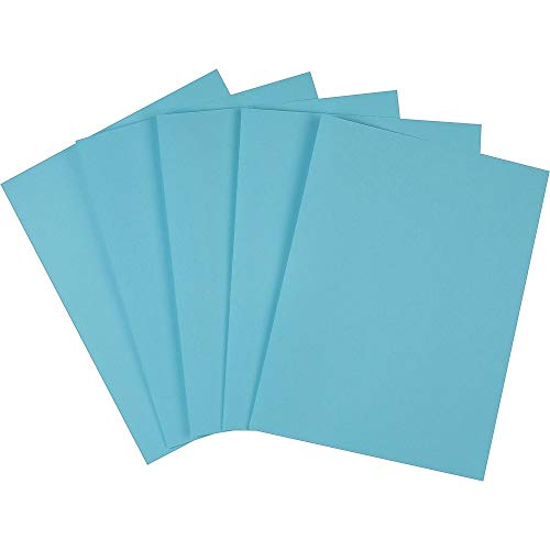 (Staples 733072 Brights 24 Lb. Colored Paper Blue 500/Ream)