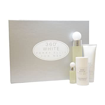 Amazon.com : 360 White by Perry Ellis for Men Gift Set : Beauty