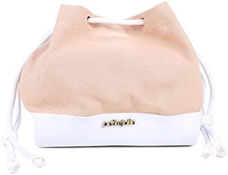 a84a5986a6 Bolsa Petite Jolie Saco Verniz Lona Belle Coconut Feminina - Bege+branco -  Único  Amazon.com.br  Amazon Moda