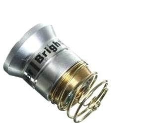 LED Flashlight Bulb JUSTUP 1000 Lumens Smooth Reflector Cree T6 Flashlight Lamp Single Mode 3.0-18V Drop-In- P60 Design: Ultrafire Surefire Hugsby C2 G2 Z2 6P 9P G3 S3 D2 Ultrafire 501B 502B Justup® 2pack