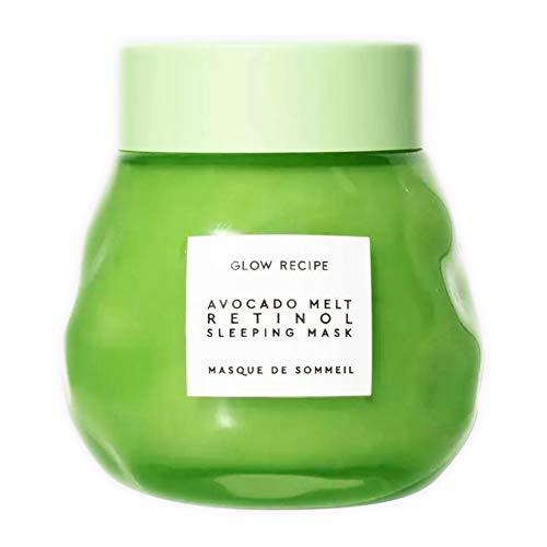 Glow Recipe Avocado Melt Retinol Sleeping Mask 2.3 Oz! Formulated With Avocado, Encapsulated Retinol And PHA! Help Nourish And Calm Skin! Vegan, Parabens-Free And Cruelty-Free! by Glow Recipe