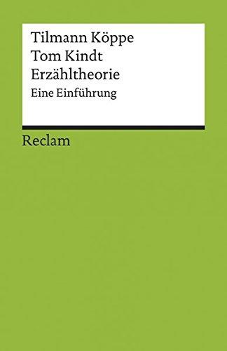 Erzähltheorie: Eine Einführung (Reclams Universal-Bibliothek)