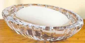 Crystal Soap Dish - 4