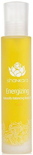 Shankara Energizing Body Oil - Stimulating & Balancing Massage Oil - Ayurvedic Daily Moisturizer - pH Balanced, Rich in Essential Oils, Vitamins & Antioxidants - Suits All Skin Types - ()