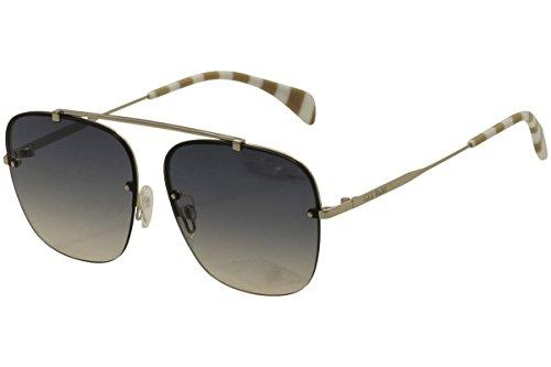 Hadid2 3YG Light Gold Gigi Hadid2 Square Sunglasses Lens Ca ()