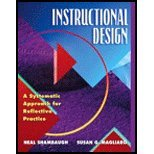 Instructional Design (06) by Shambaugh, Neal N - Magliaro, Susan G [Paperback (2005)]