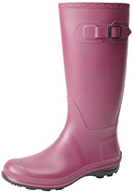 Kamik Women's Olivia Rain Boot,Berry,6 M US
