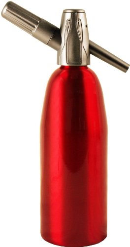 (Creamright Sparkle Soda Siphon-Red)