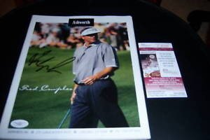 SAcoa Signed Golf Magazine - Authentic Signed Autograph ()