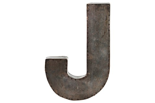 Metal Alphabet Letter - 6