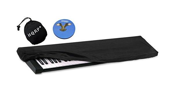 HQRP Funda antipolvo, cubierta para Korg SV-1 BK 73 / SV-1 73 Tecla inversa / Pa4X / Pa3X / Pa3X Le sintetizador + HQRP Posavasos: Amazon.es: Instrumentos ...