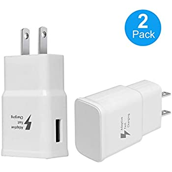 Amazon.com: Adaptive Fast Charging Wall Charger Adapter ...