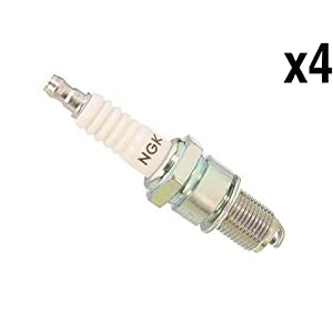 Saab 2.0L (79-88) Spark Plug (set 4) OEM Ngk BP7ES 900