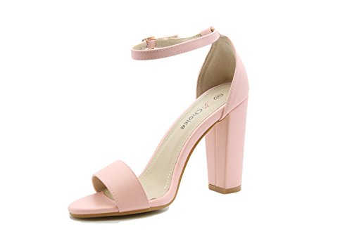 Saute Styles - Zapatos de tacón  mujer Rosa - rosa