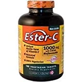 American Health Easter C Vegetarian Tablet, 1000 Mg - 180 per pack -- 2 packs per case.