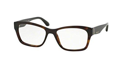 Prada Rx Eyeglasses Frames Vpr 24R 2AU-1o1 52x16 Havana Tortoise Made in ()