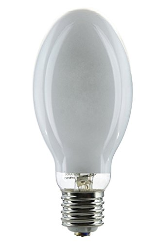GE HR250DX37 250 Watt Mercury Vapor Lamp ED28 Mogul Base H37 Coated